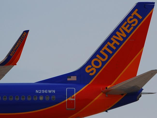 Southwest Airlines said the man could not get back on the flight. Picture: Eddie Maloney