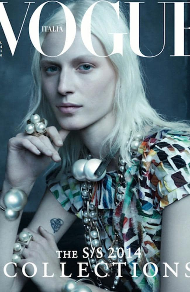Julia Nobis for Vogue Italia