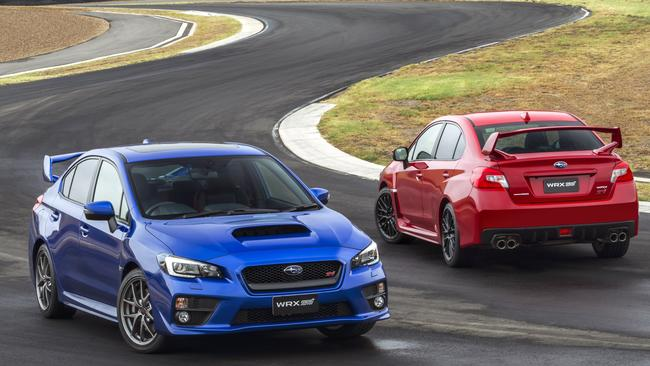 The recall affects 2015 model year WRX and WRX STI sedans fitted with a subwoofer. Picture: Supplied.