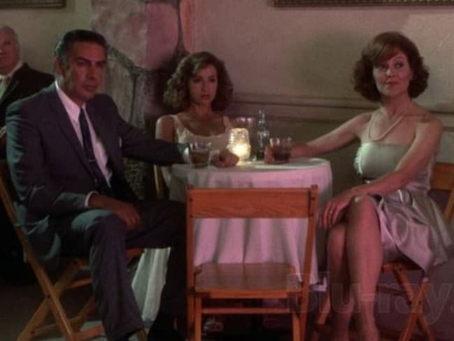 Nobody puts Baby in a corner ... Jerry Orbach, Jennifer Grey and Kelly Bishop in Dirty Dancing. Picture: Supplied