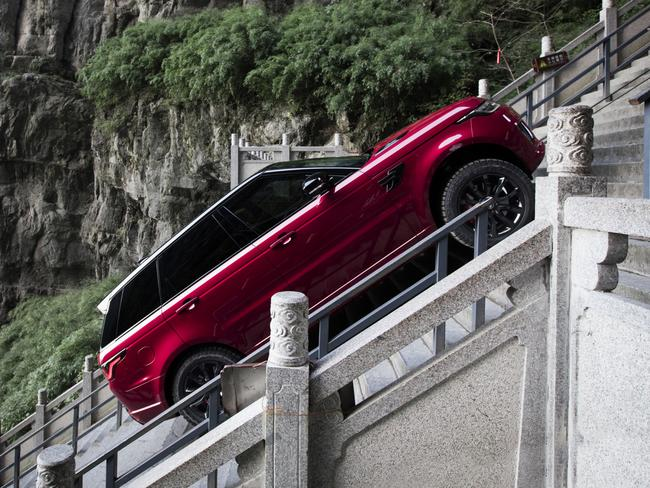Not for the faint-hearted. Picture: Land Rover