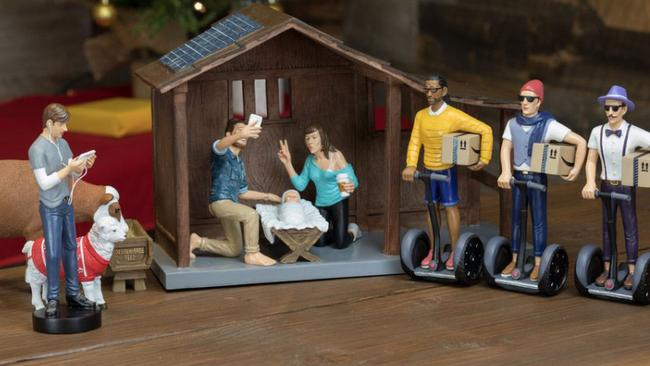So hipster it hurts. Picture: Modern Nativity.