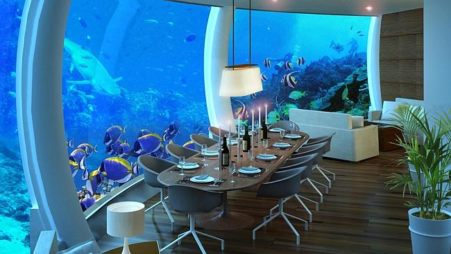 DON'T know that you'd want to be ordering seafood. Picture: poseidonresorts.com