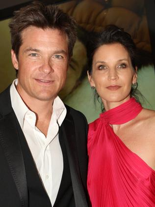 Jason Bateman with wife Amanda Anka in Sydney. Picture: Supplied