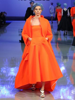 A Maticevski dress. Picture: Brendon Thorne/Getty Images