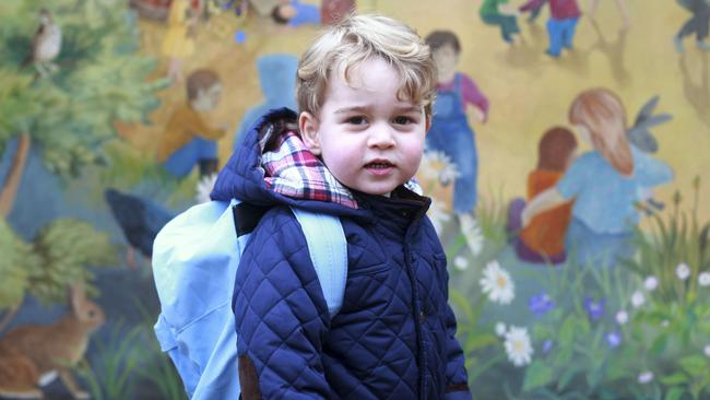 This guy. Prince George has been dubbed 'The Republic Slayer'. Picture: AFP Photo/HRH Duchess of Cambridge.