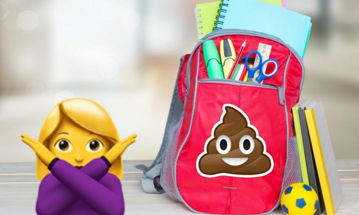My son's preschool teacher gave me a bag of crap