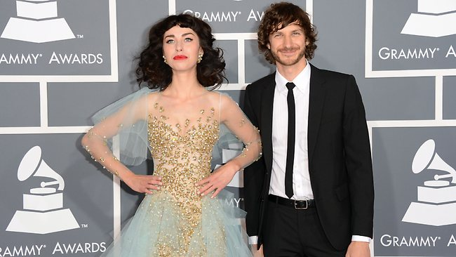 Gotye and Kimbra arrive at the 55th Annual GRAMMY Awards at Staples Center.