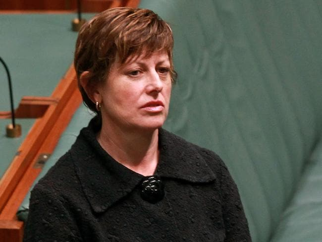 Worried ... Anna Burke says she hadn't seen anyone wearing a burqa in her 16 years in Parliament. Picture: Smith Kym