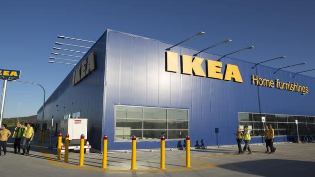 Ikea launches home delivery in Canberra today.