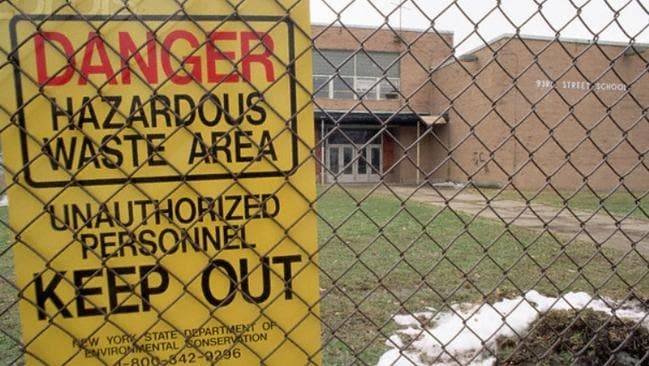 The 99th Street School was the epicentre of the Love Canal disaster.