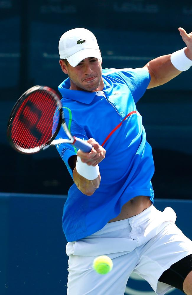John Isner was too consistent for Marinko Matosevic.