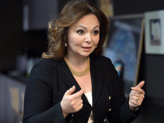 Russian lawyer Natalia Veselnitskaya was at the Trump Tower meeting. Picture: AFP