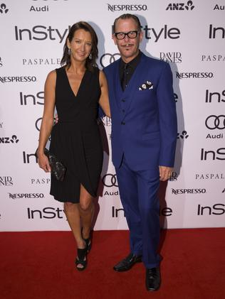 Layne Beachley and Kirk Pengilly / Picture: Justin Lloyd