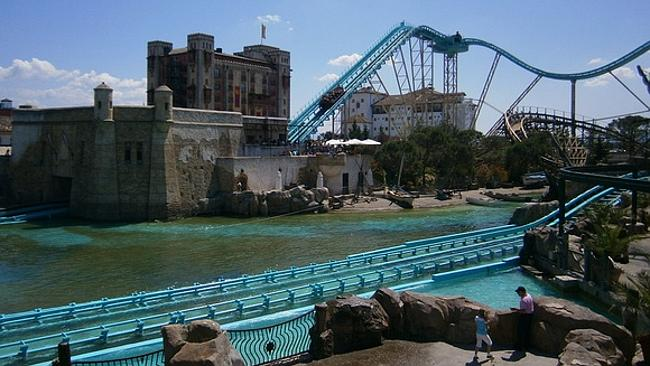 The Atlantica SuperSplash in Europa Park will have everyone screaming.. and wet. Picture: Flickr fcstpauligab