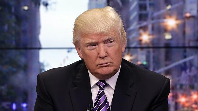 """Businessman Donald Trump ... for many he represents the """"one per cent"""". Picture: ..."""