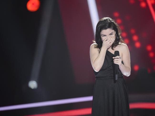 The Voice finalist Sabrina Batshon / Picture: Channel 9