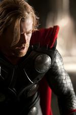 <p>Chris Hemsworth stars as the title character in Thor.</p>
