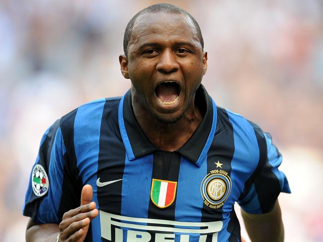Patrick Vieira has slammed the appointment of Carlo Tavecchio as Italian FA boss.