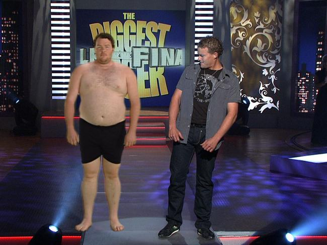Adelaide contestant Andrew ''Cosi'' Costello during The Biggest Loser Finale.