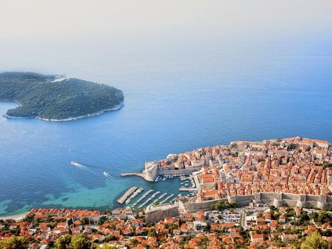 Dubrovnik from above.
