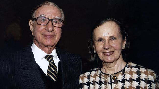 Isaac and Susan Wakil in recent years: They have been generous donors across Sydney.