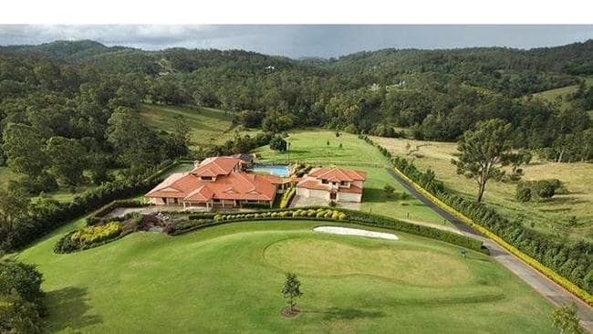 THE land holding is very large even by Pullenvale standards. Picture: realestate.com.au