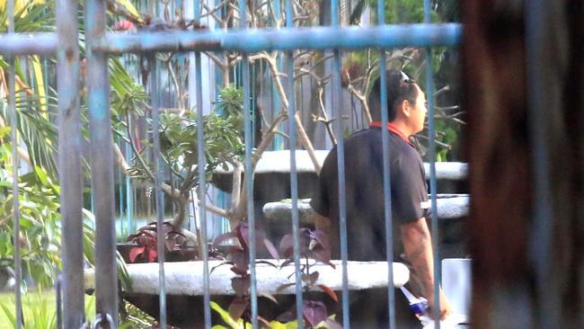 Losing hope ... Andrew Chan behind bars at Kerobokan yesterday. Picture: Adam Taylor