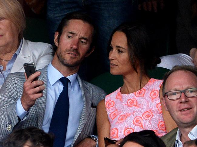 Pippa Middleton and fiance James Matthews have asked for their privacy to be respected. Picture: Anthony Devlin.