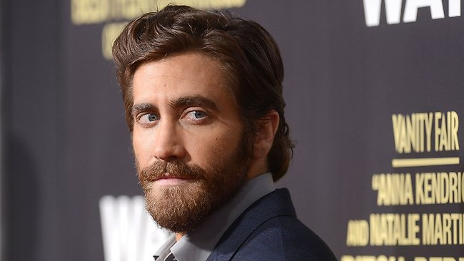 Actor Jake Gyllenhaal did his part to raise money for veterans suffering mental health issues with a poetry reading and $5000 donation at a New York fundraiser. Picture: Getty