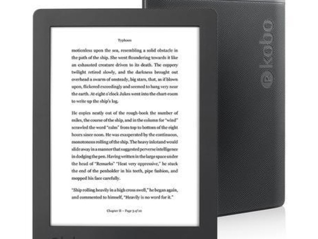 With the new Kobo Aura H2O, you'll experience reading in a whole new light.