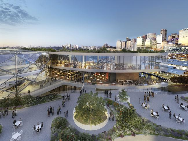 An artist's impression of the proposed $500 million redevelopment of The Star casino / Supplied