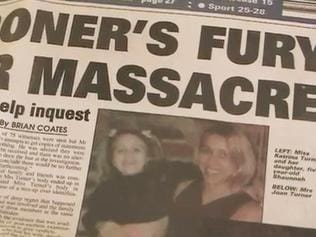 Three generations lost ... Briton Katrina Turner, her five-year-old daughter Shaunnah and mother Joan all died at Luxor.