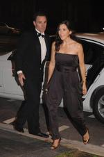 <p>Princess Mary arrives at Amber Petty's 40th birthday party at the Promethean, Grote Street - Photo: Angela Keith</p>