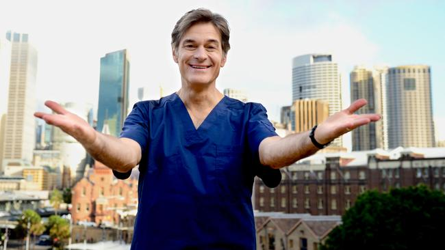 Dr Oz in Sydney in 2014. Photo Jeremy Piper