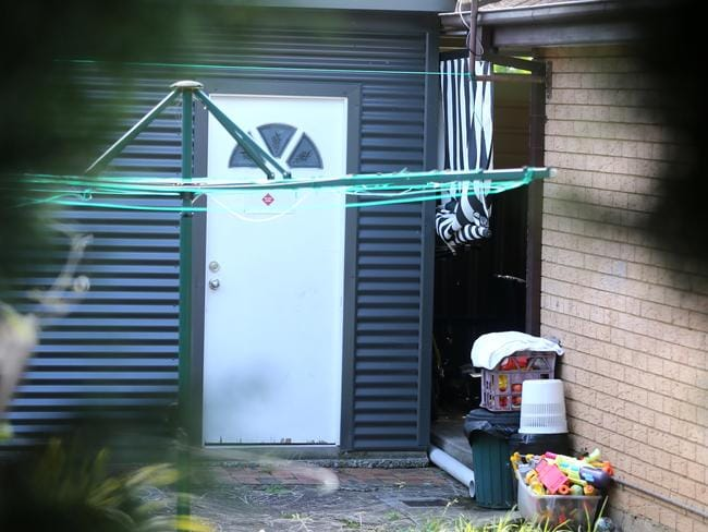 The teenager's home is used for family daycare with toys pictured outside part of the property. Picture: John Grainger