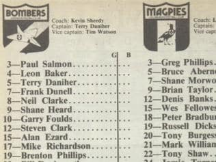 Flashback - 1986 Footy Record