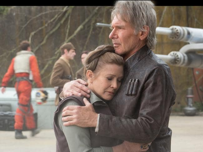 Although she only recently admitted to a 'hook-up' with Harrison Ford she said her co-star was a 'bad kisser'. Picture: Supplied