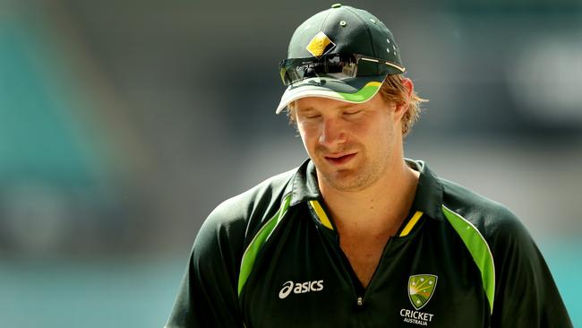 Shane Watson is back in Australia while Mitch Marsh shines in Zimbabwe. Picture: Gregg Porteous.