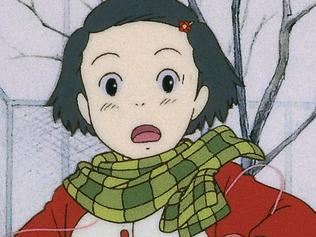 Scene from the Japanese animated film Only Yesterday. Madman Films