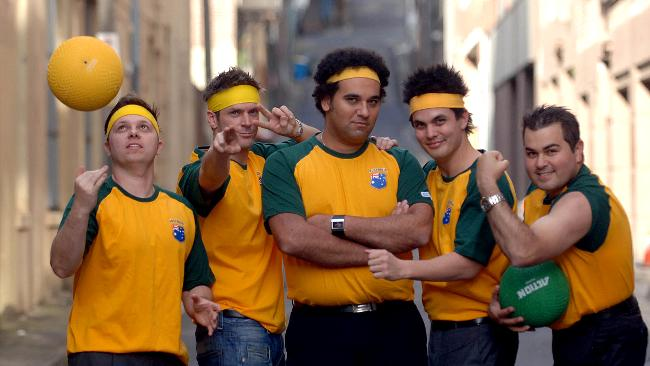 Australia S First National Dodgeball Team Select