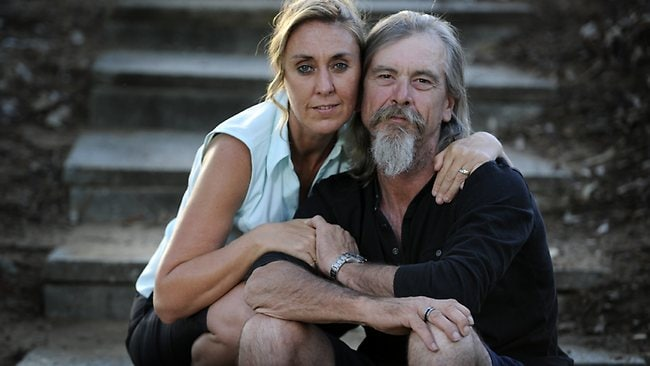 Perth couple Tracey Gunn and Rob Elcombe. Picture: Daniel Wilkins