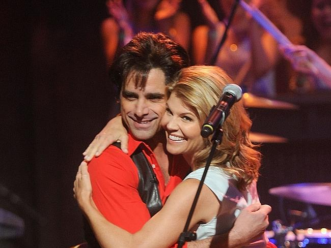 Just Friends ... John Stamos of Jesse and the Rippers and Lori Loughlin are still good friends and appeared together on Jimmy Fallon's show last year.
