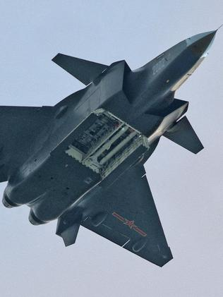 New boy on the block ... China has made a huge leap into the realm of stealth aircraft with its J-20 prototypes.