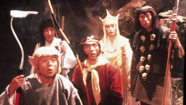 """The cast of 1978 Japanese TV series """"Monkey"""", which mesmerised Aussie kids in the 1980s."""