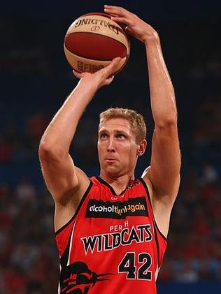 Shawn Redhage shows composure for the Wildcats. Picture: Paul Kane