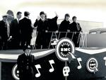 The Beatles land in Australia in 1964 for a tour. Picture: News Corp