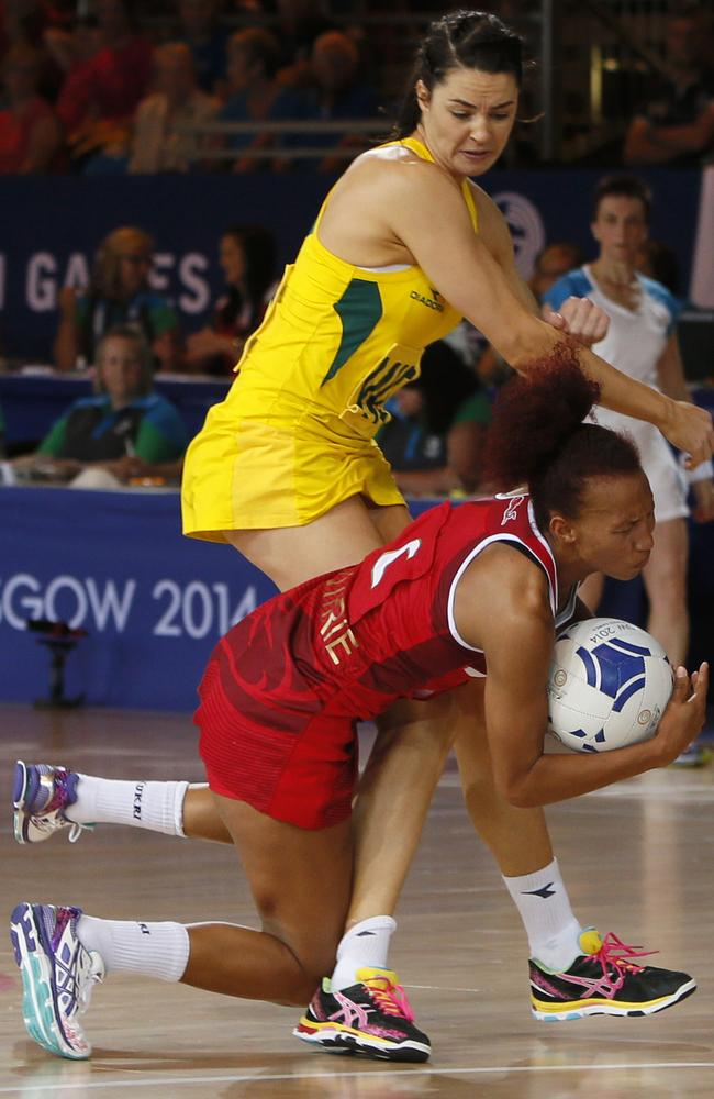 It's been a bruising campaign for Australia's netball team.