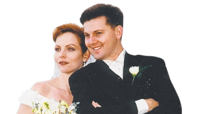 Allison and Gerard Baden-Clay on their wedding day. Photo: Supplied