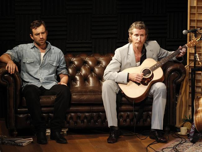 From left: Johnny Carr & Tim Rogers. Picture: Jeff Busby